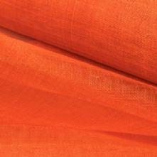 Deep Orange Sinamay